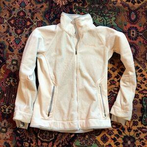 Women's Columbia Fleece Full Zip Jacket Sz Small